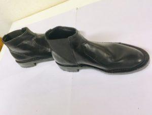 3回変化したゴアブーツ。履きやすさを求めて、亜希さんの靴作り