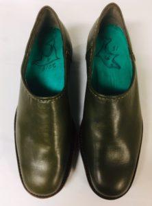 令和第1号は玲子さんのシンプルな靴です。玲子さん15足目の靴作り。