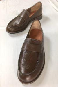 令和第5号は道保さんの一足目です。初めての靴作り。